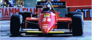 Stefan Johansson Ferrari F1 Detroit GP 1985 (2)