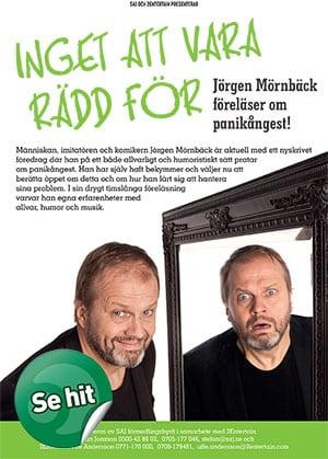 Boka föreläsare: Jörgen Mörnbäck