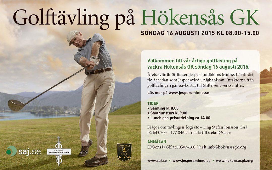 SAJ:s golftävling stöttar stiftelse