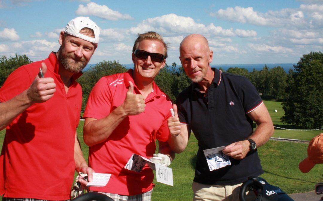 Golftävling till förmån för Stiftelsen Jesper Lindbloms Minne