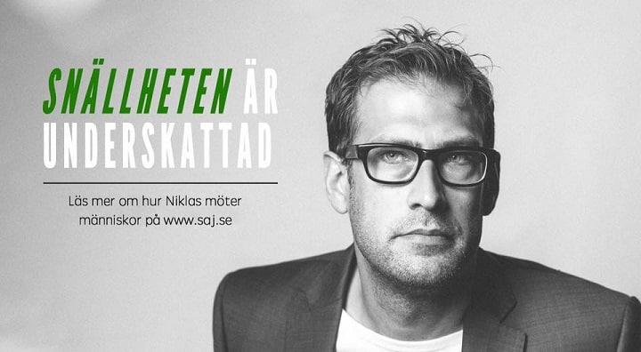 Niklas Källner föreläser och leder möten
