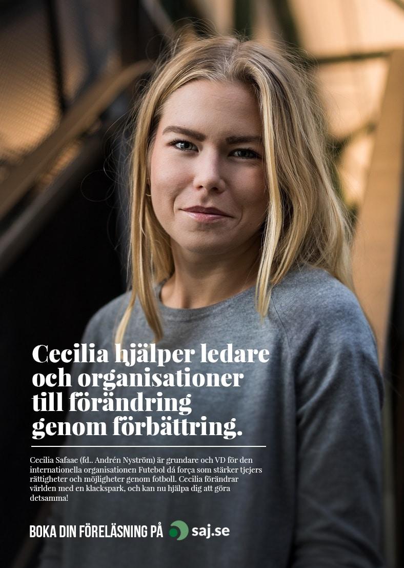 Cecilia Safaae (fd Andrén Nyström)
