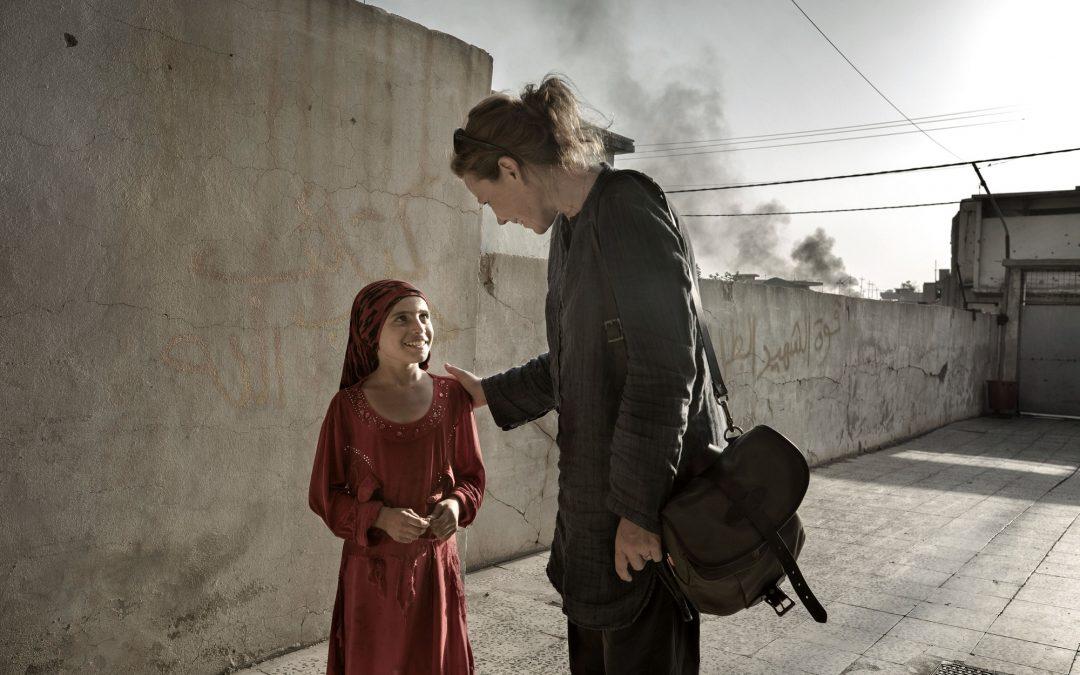 Terese Cristiansson från Mosul; Mitt jobb är att ge dem en röst