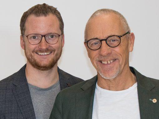 Jojje Jönsson och Lars Classon
