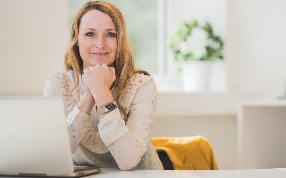 Manuela Liegnell ger av sin styrka för att utveckla andra