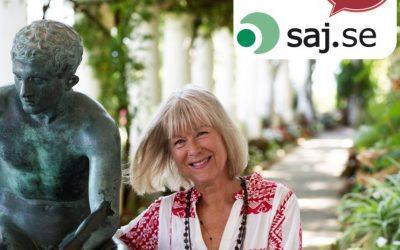 Kristina Kappelin om Italien och Villa San Michele – onlineföreläsningar