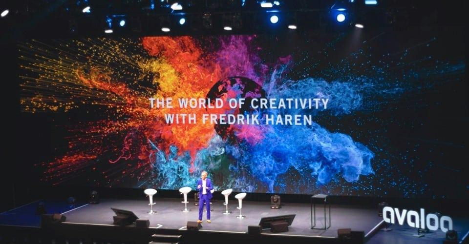 På jakt efter kreativiteten – Fredrik Härén