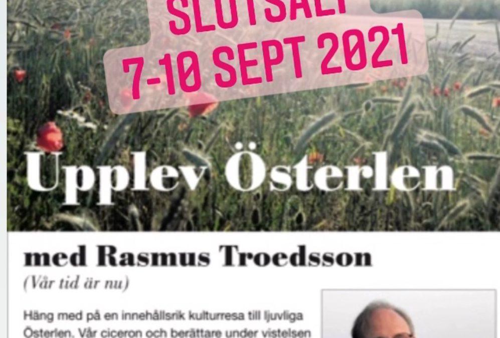 Upplev Österlen under vår kulturresa med Rasmus Troedsson