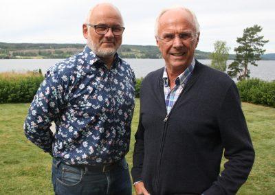 Johan Plate och Sven-Göran Eriksson