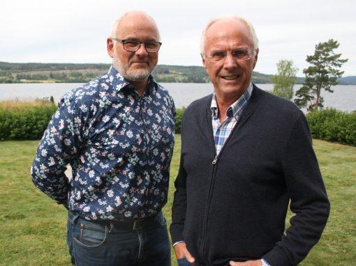 Sven-Göran Eriksson och Johan Plate